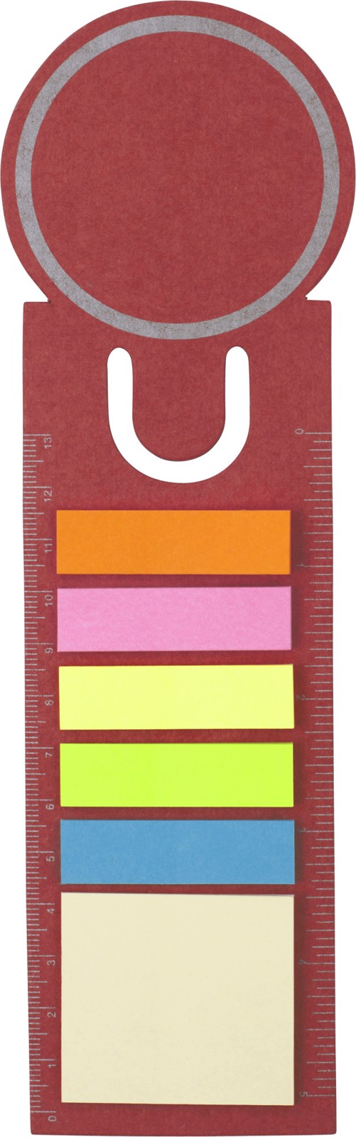 Cardboard bookmark - Red