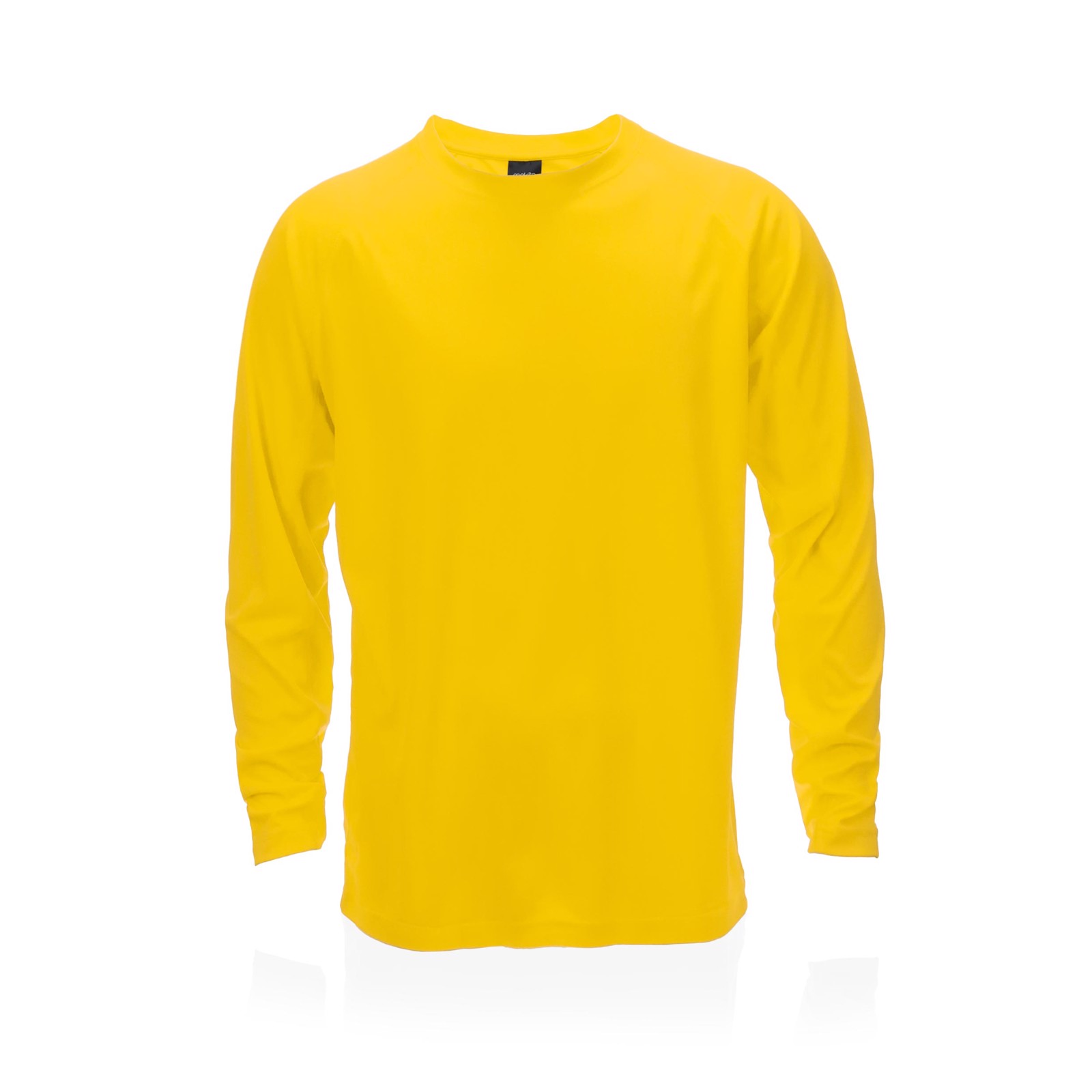Camiseta Adulto Tecnik Maik - Amarillo / L