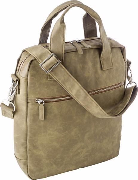 PU laptop shoulder bag (13')
