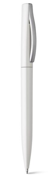 AROMA. Kuličkové pero z ABS - Bílá