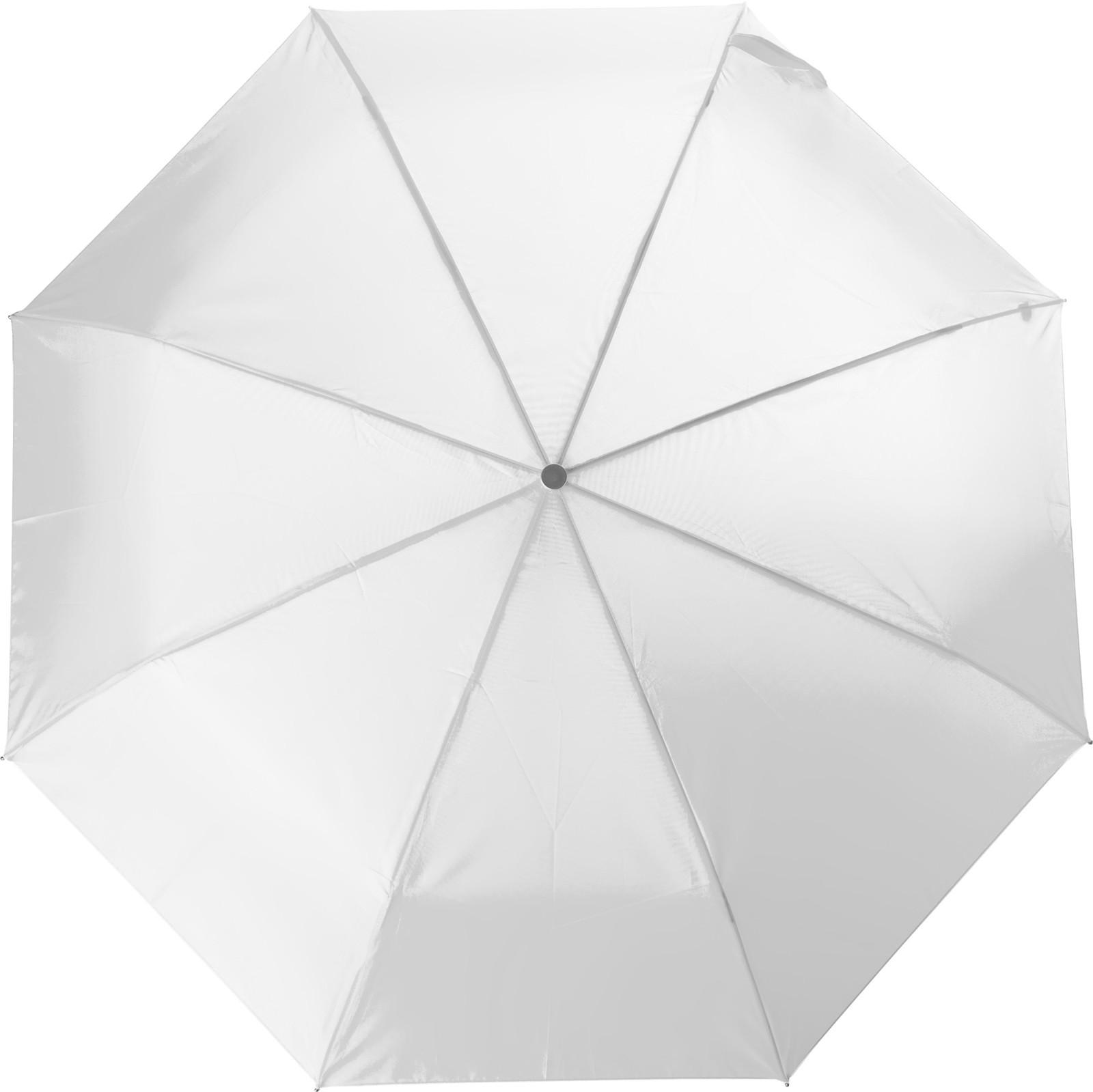 Polyester (210T) umbrella - White
