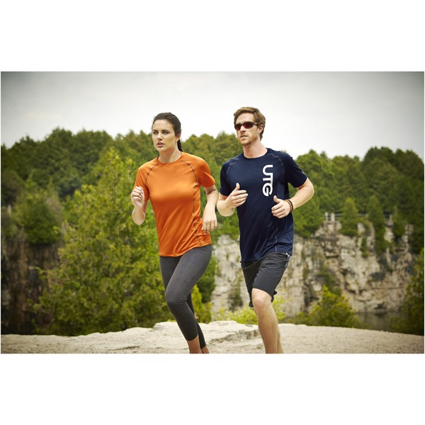 Kingston short sleeve men's cool fit t-shirt - Navy / XL