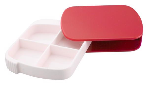 Box Na Pilulky Elyan - Červená