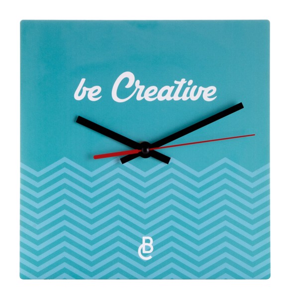 Wall Clock BeTime B - White / Black