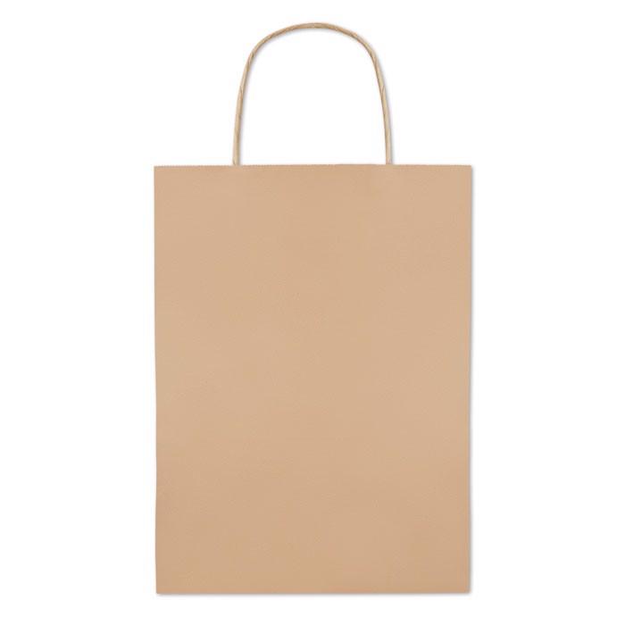 Bolsa papel mediana 150 gr/m² Paper Medium - beig