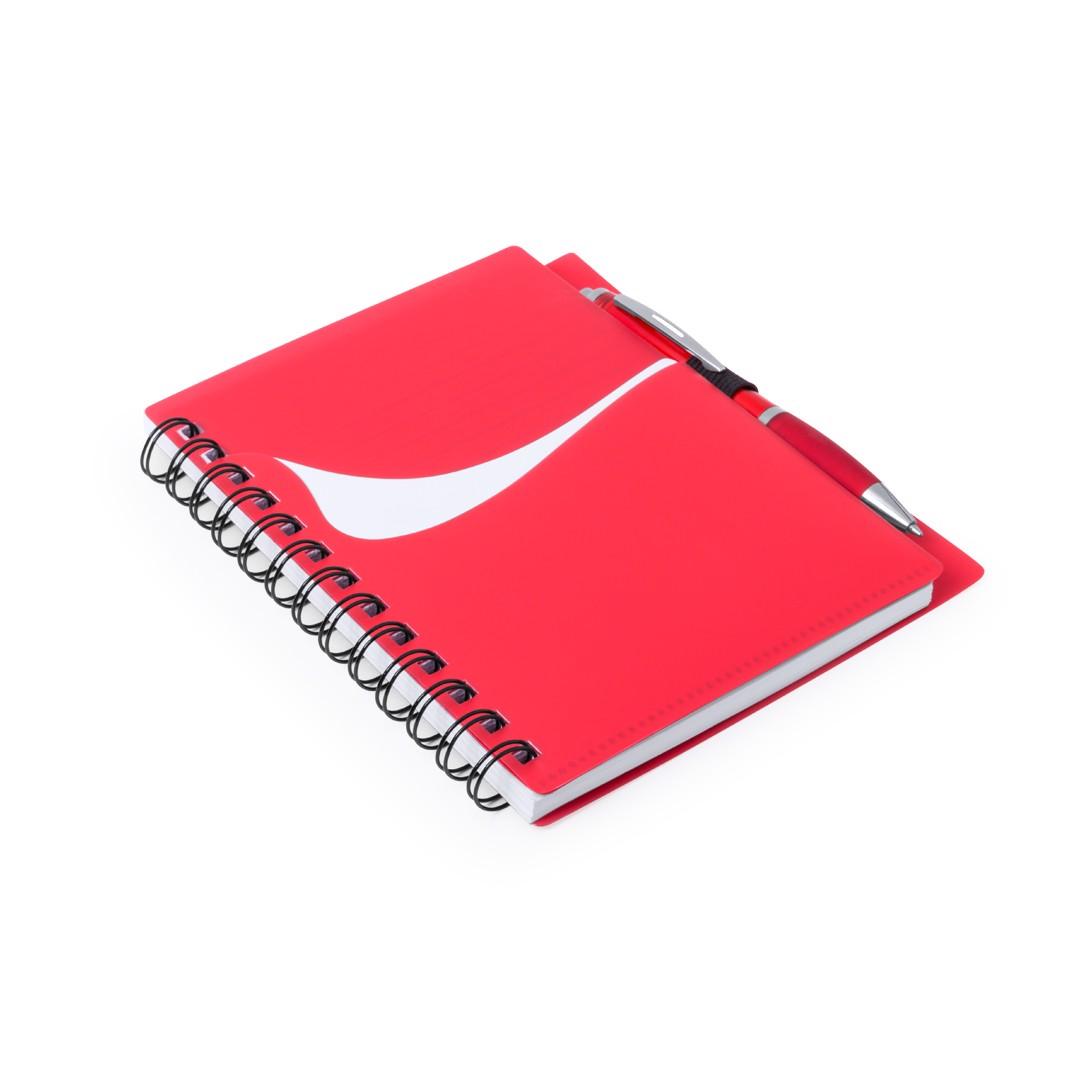 Libreta Dymas - Rojo