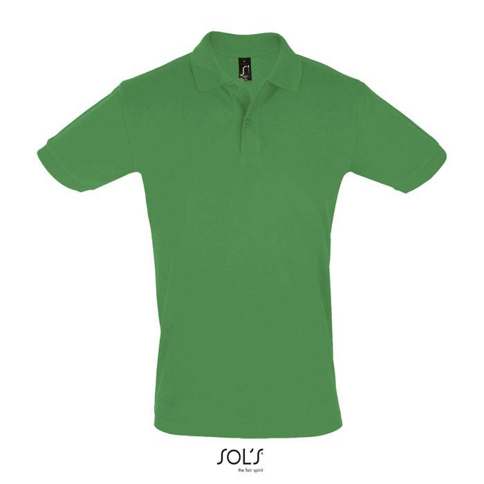 PERFECT POLO HOMBRE 180g Perfect Men - Verde / XL