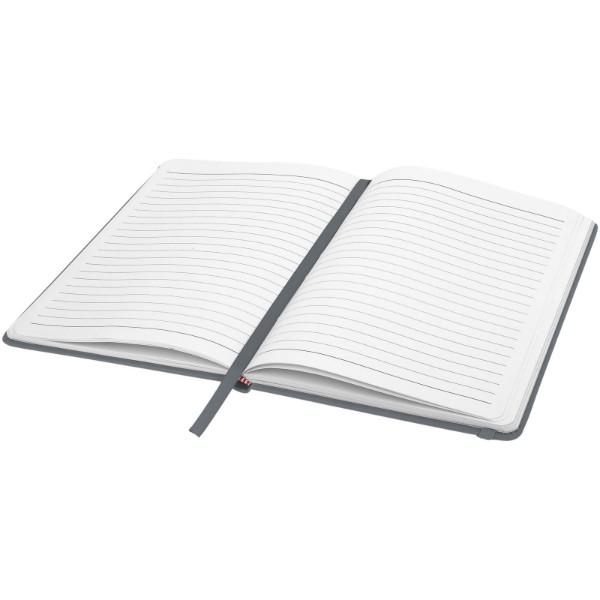 Zápisník s pevnou obálkou A5 Spectrum - Stříbrný