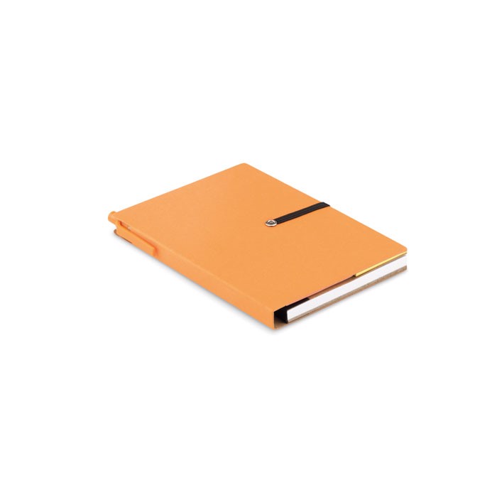Recycled notebook Reconote - Orange