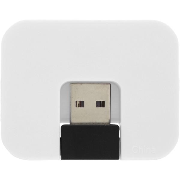 USB hub se 4 porty Gaia - Bílá