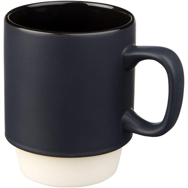 Kubek ceramiczny Arthur 420 ml - Czarny