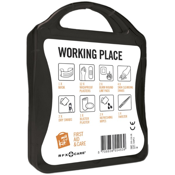 MyKit Workplace First Aid Kit - Solid Black