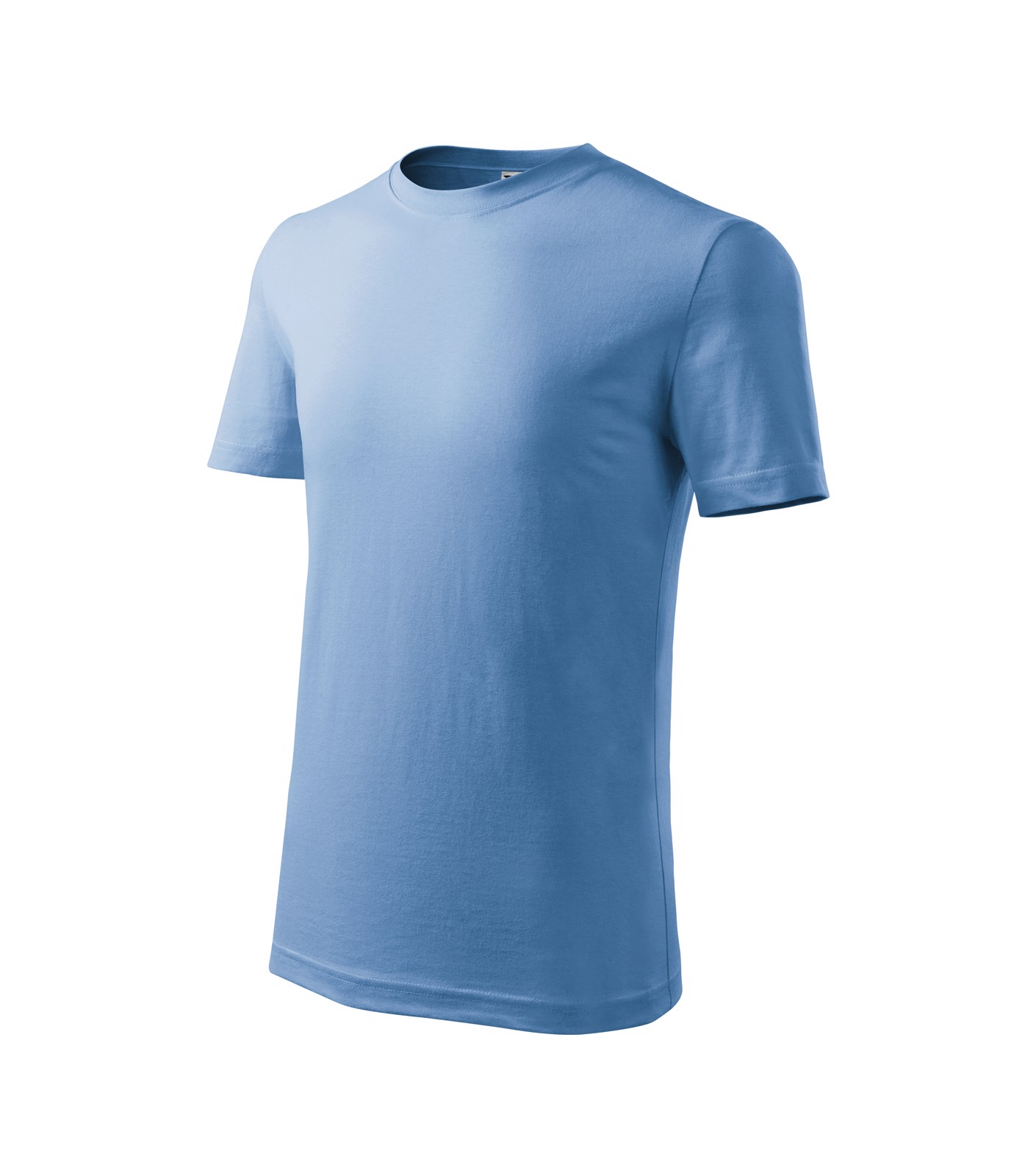 Tričko dětské Malfini Classic New - Nebesky Modrá / 158 cm/12 let