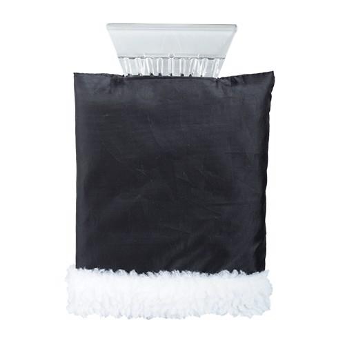 Skrobaczka do szyb z rękawicą - Czarny