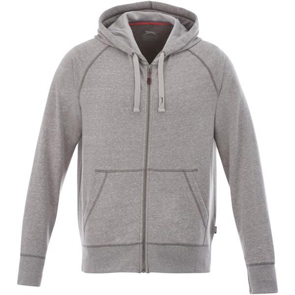 Groundie full zip hoodie - Grey Melange / XS