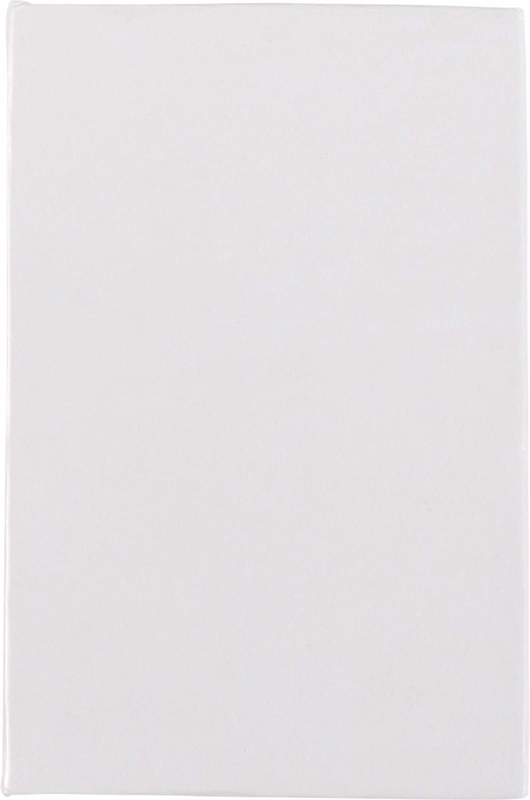 Cardboard sticky note holder - White