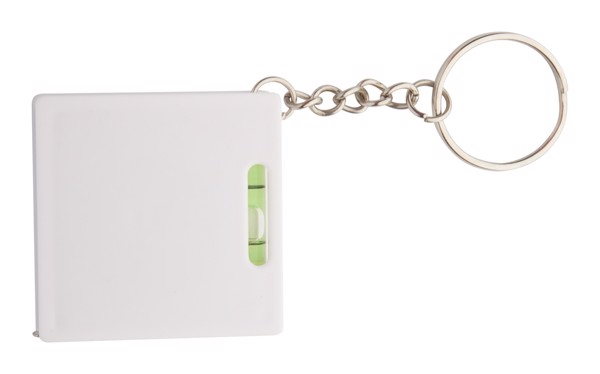Přívěšek Na Klíče S Metrem - 1 M Level - Bílá