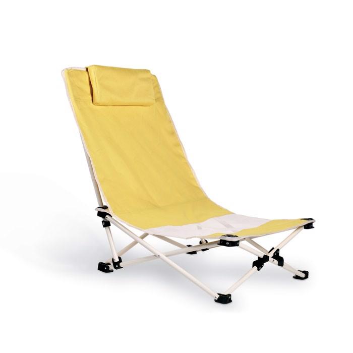 Capri beach chair - Yellow