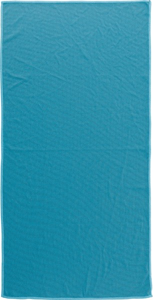 Nylon pouch with sports towel - Orange