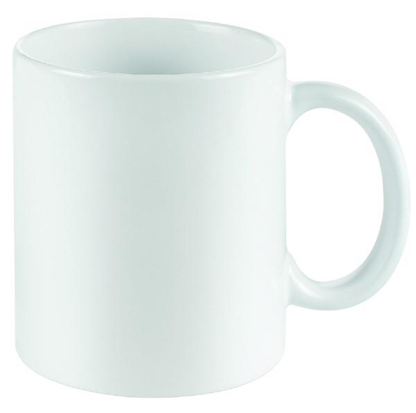 Senator® Pics One Mug High Gloss Finished - White