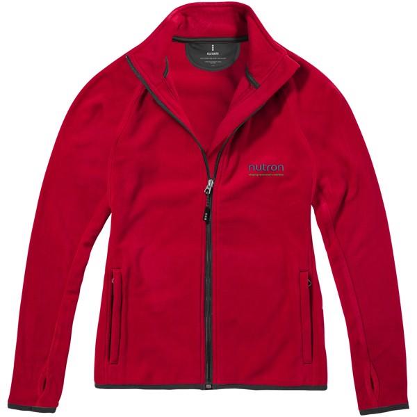 Brossard micro fleece full zip ladies jacket - Red / L