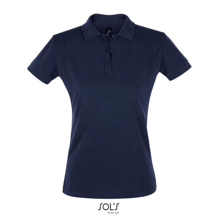 PERFECT POLO MUJER 180g Perfect Women - Azul marino / L