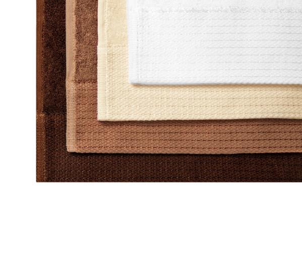 Malý ručník unisex Malfinipremium Bamboo Golf Towel - Mandlová / 30 x 50 cm