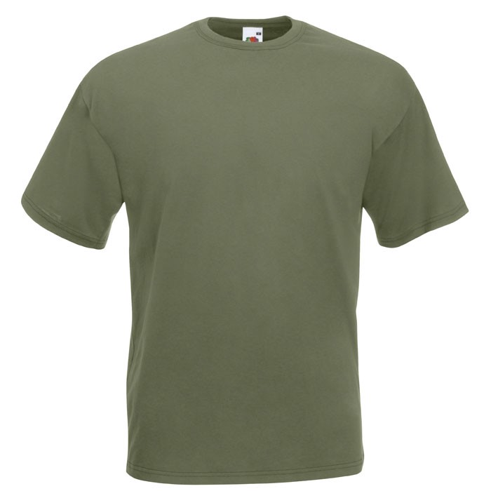 T-shirt 165 g/m² Value Weight T-Shirt 61-036-0 - Classic Olive / XXL