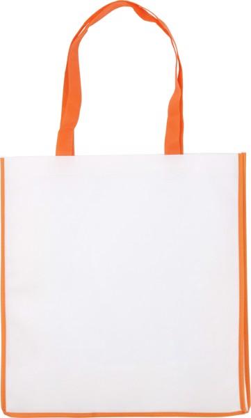 Nonwoven (80 gr/m²) bag - Orange