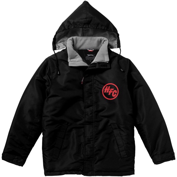 Under Spin insulated jacket - Solid black / XXL