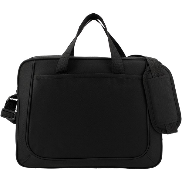 The Dolphin business briefcase - Solid Black