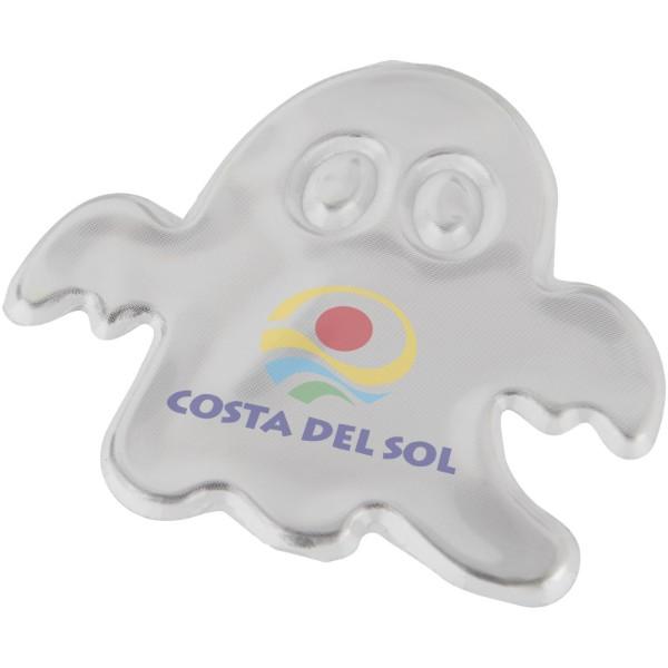 Reflective sticker ghost medium - White