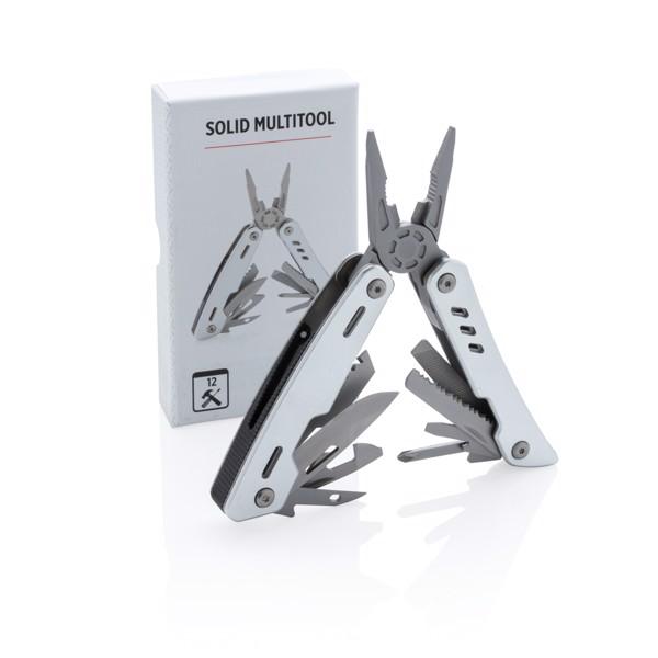 Multifunkční nůž Solid - Stříbrná