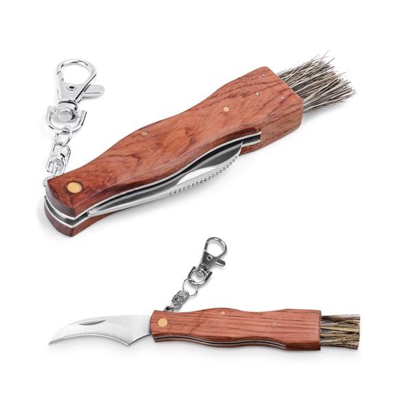 GUNTER. Kapesní nůž z nerezové oceli a dřeva