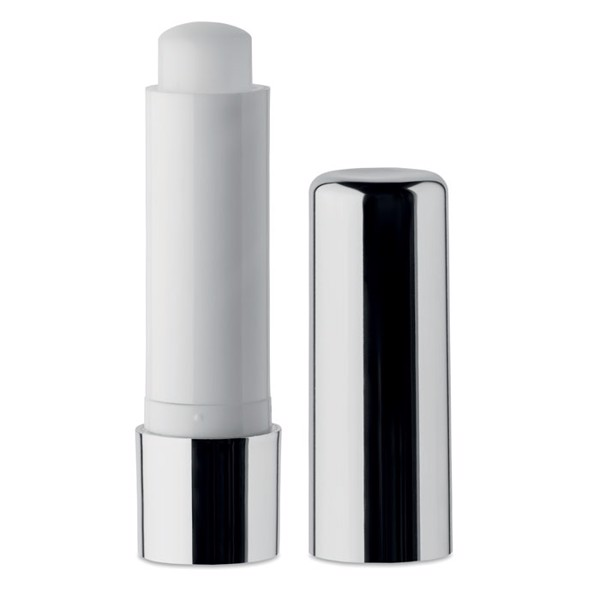 Lip balm in UV finish Uv Gloss - Shiny Silver