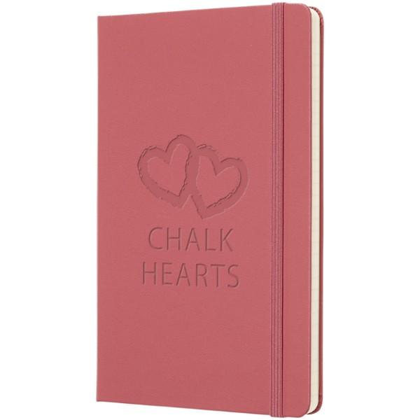 Classic L hard cover notebook - plain - Magenta