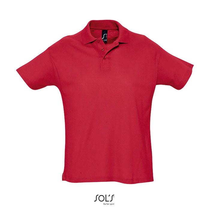 SUMMER II POLO HOMBRE 170g - Rojo / XL