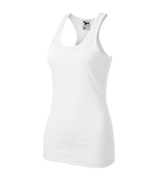 Top Ladies Malfini Racer - White / 2XL