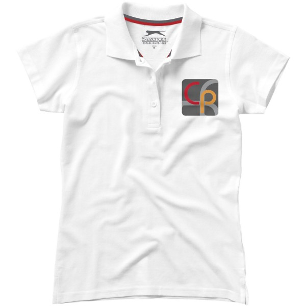 Advantage short sleeve women's polo - White / S