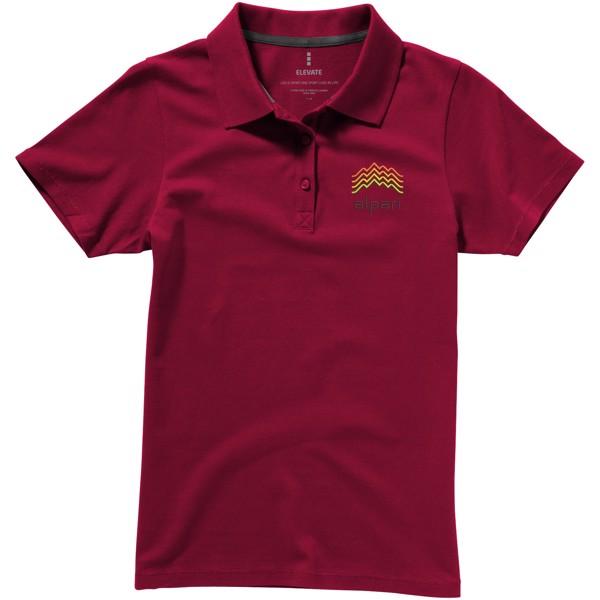Seller short sleeve women's polo - Burgundy / XS