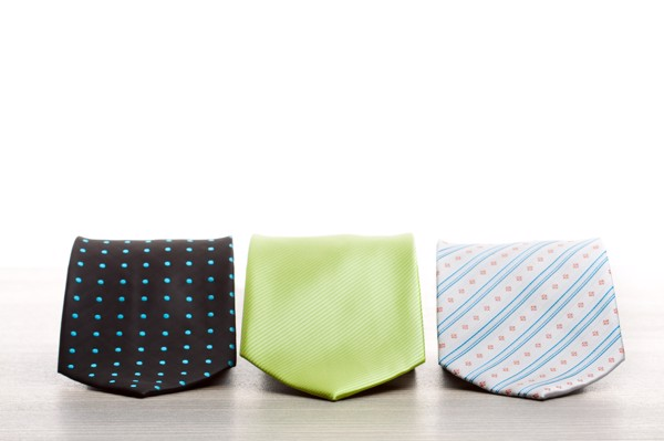 Necktie Colours - Bright Lime Green