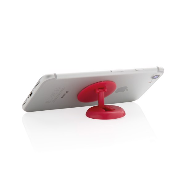 Stick 'n Hold držák a stojánek na telefon - Červená
