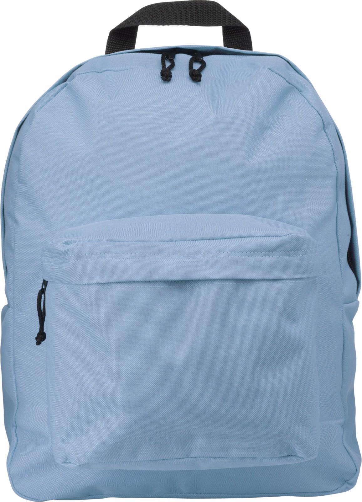 Polyester (600D) backpack - Light Blue