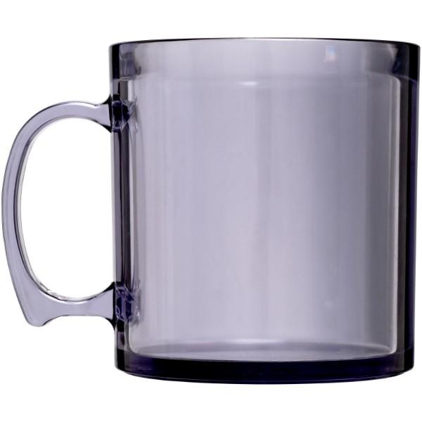 Standard 300 ml plastic mug - Transparent clear
