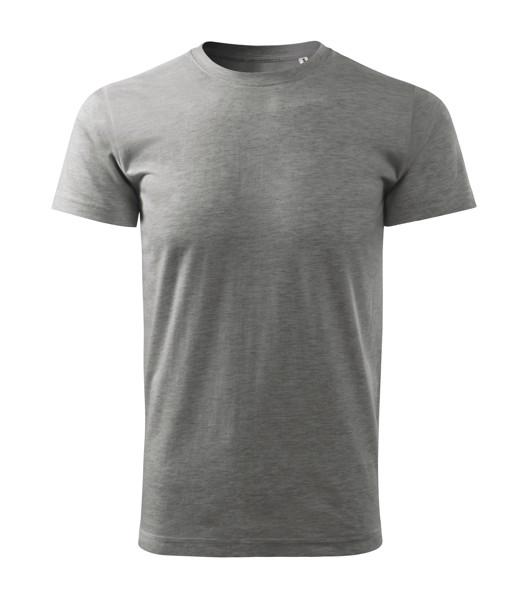 T-shirt men's Malfini Basic Free - Dark Gray Melange / XL