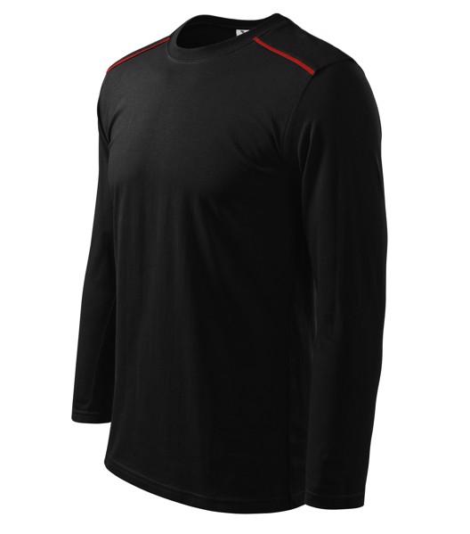 T-shirt unisex Malfini Long Sleeve - Black / 2XL