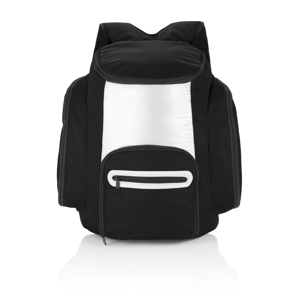 Cooler backpack - Black / Silver