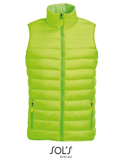 Men`S Lightweight Bodywarmer Wave - Neon Lime / XXL