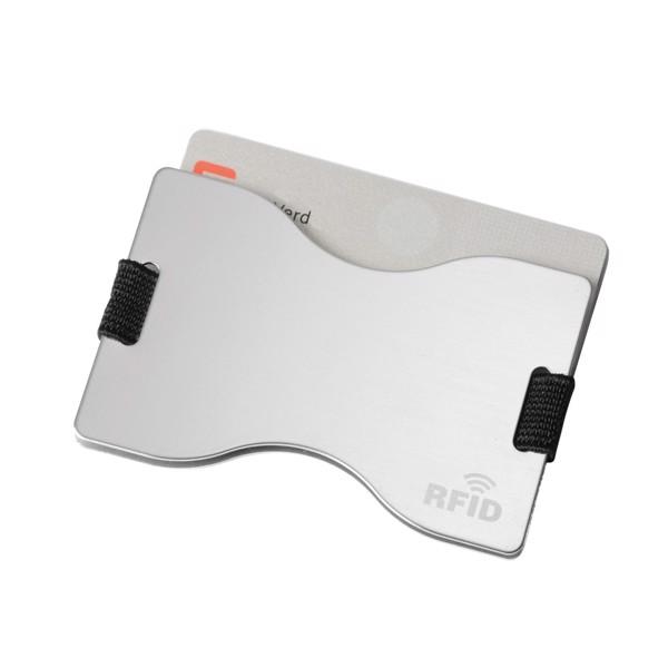 Ochranný Obal Na Platební Karty Lock Up / Stříbrná