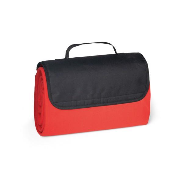 RILEY. Κουβέρτα 180 g/m² - Κόκκινο